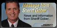 Message from Sheriff Gober